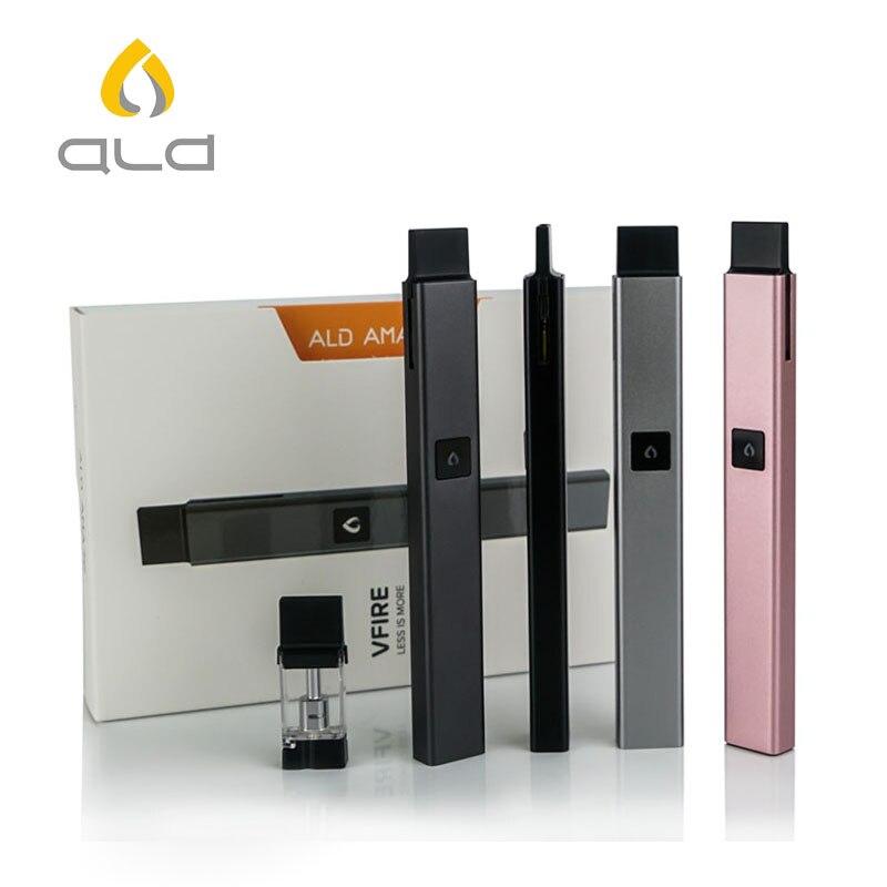 ALD AMAZE Vfire vape pod system vaper electronic cigarette vaporizer e-cigarettes pod Ceramic heating kit shisha ecigarette