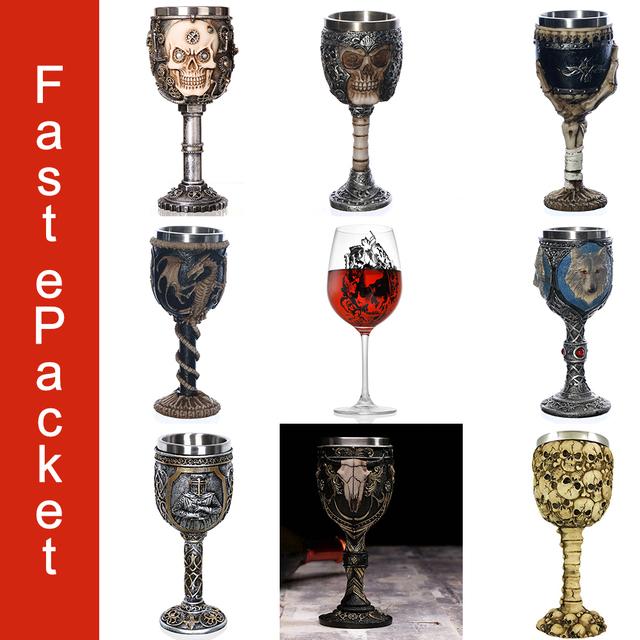 COOL SKULL WINE GLASS (9 VARIAN)