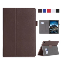 Tab4 10 Plus X704F N PU Leather Wallet Case Cover Slim 10 Stand Skin For Lenovo