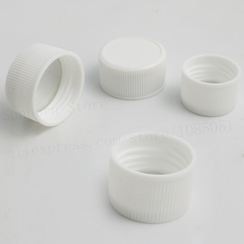 Купить с кэшбэком 30pcs10ML 15ML White High Density Polyethylene Empty Pill Tablet Container Holder Medicine Bottles