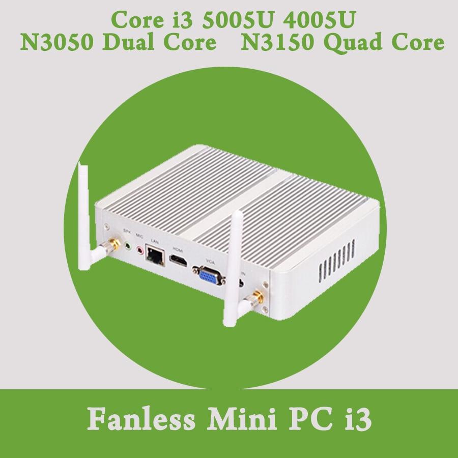 2 GHz HD 5500 Gráficos 4 K HTPC wifi HDMI VGA Cheapest i5 broadwell mini pc wind