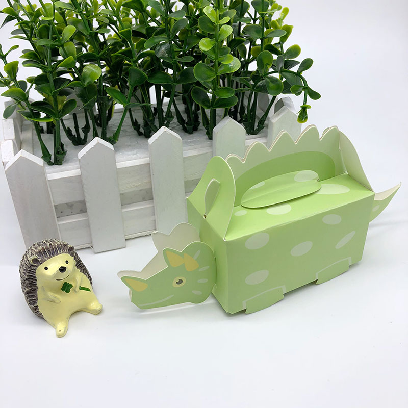 Dinosaur Gift Box Baby Shower Favors Candy Box Cardboard Box Packaging Birthday Party Decorations Kids