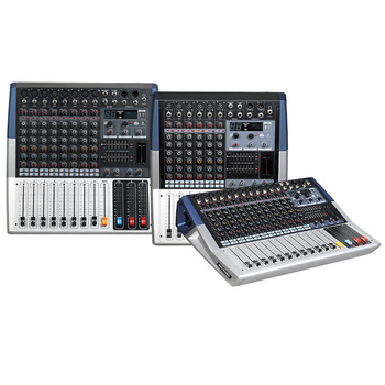 Mixing console recorder 48 V phantom power monitor AUX effect path 6-16 channel audio mixer USB 99 DSP effects KVi