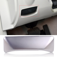 Beler 1P Silver Car Electronic Handbrake Switch Decorative Cover Trim Fit For Benz E Class W212