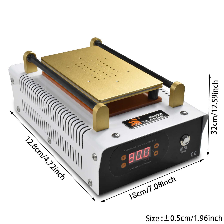 ЖК-сепаратор удаление пузырей машина ОСА встроенный насос вакуумный ламинирование экран ремонт машина комплект для смарт Обновление телефона