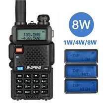 BaoFeng UV-5R 8W leistungsstarke Walkie Talkie 8Watt 10KM long range Two way CB radio uv 5r handheld uv5r(China)