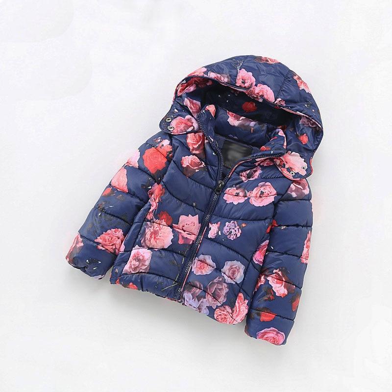 Winter jackets for girls Children's Parkas Girls winter coat Clothing for girls jacket Clothes for baby girls kids 6-7-8-9Yrs doodlepedia for girls