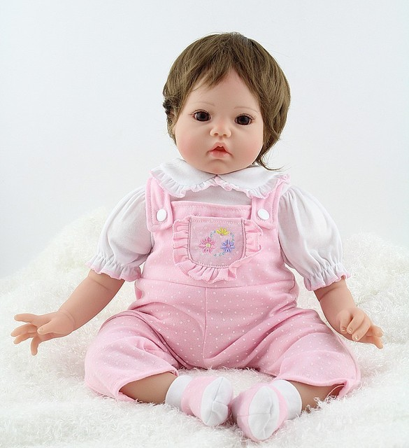 36ab169399 NPK muñecas Reborn de silicona hechas a mano bebés de 20 pulgadas de Vinilo  Suave muñecas