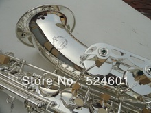 Suzuki– tenor saxophone drop B surface silvering plating Bb saxophone Bakelite mouthpiece Bb sax instrument 300s