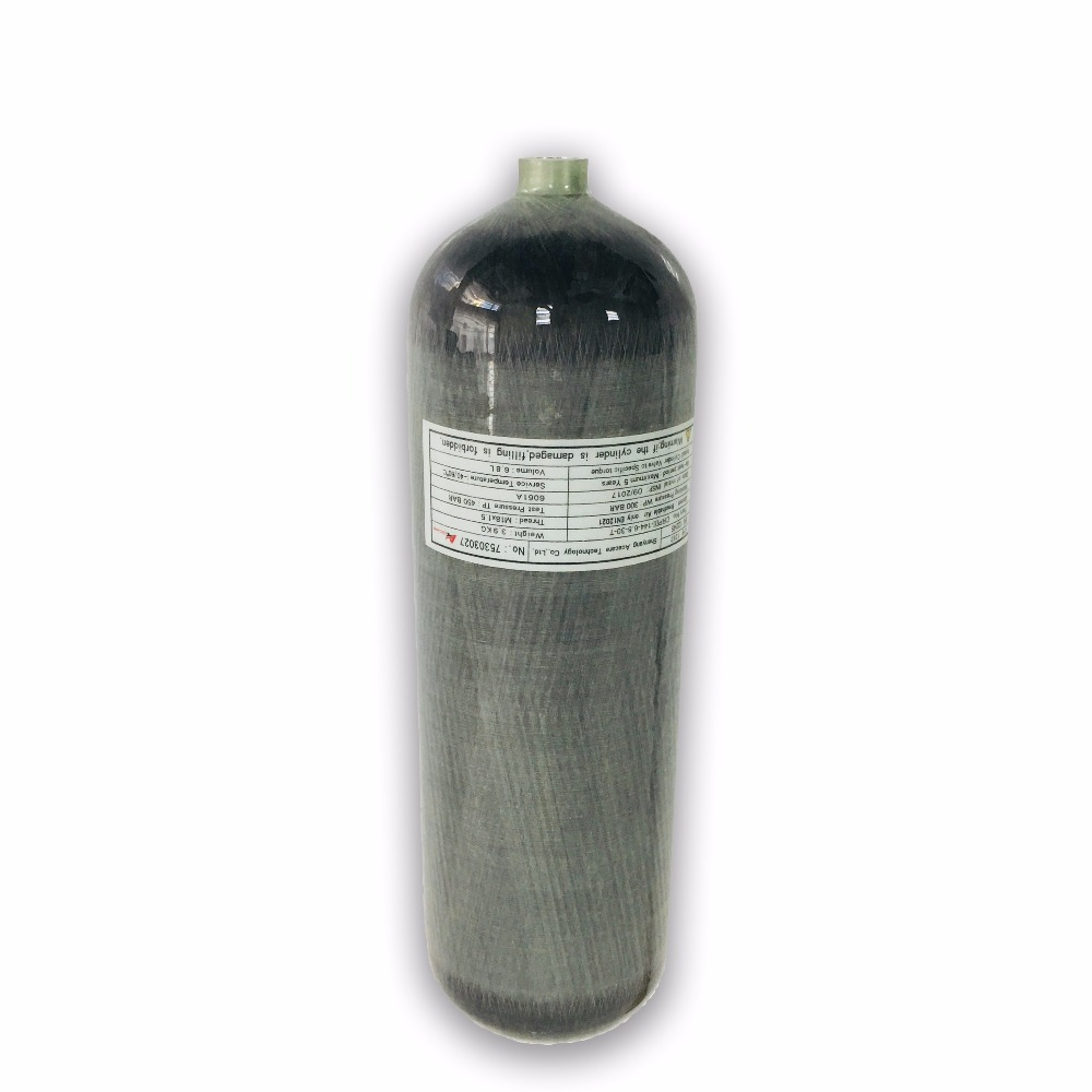 AC168 Paintball Air Tank 6.8LCE Carbon Fiber Gas Cylinder/SCUBA Tank For Airforce Condor On Sale Drop Shipping Acecare 2019
