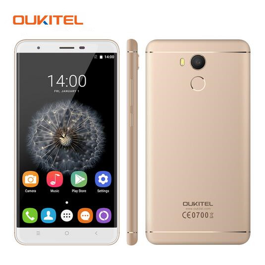 Original Oukitel U15 PRO Smartphone MT6753 Octa Core 5 5 Inch 3GB RAM 32GB ROM Dual
