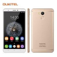 Оригинал Oukitel U15 PRO Смартфон MT6753 Octa Ядро 5.5 Дюймов 3 ГБ RAM 32 ГБ ROM Две СИМ-Карты 4 Г FDD LTE отпечатков пальцев Телефона