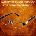 Marca clara vida = = homens titanium da liga não esféricas 12 camada revestido lentes de óculos de leitura + 1.0 + 1.5 + 2.0 + 2.5 + 3.0 + 3.5 + 4.0
