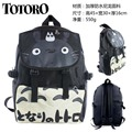 Japanese Anime My Neighbor Totoro Waterproof Laptop Black Backpack/Double-Shoulder Bag/School Bag