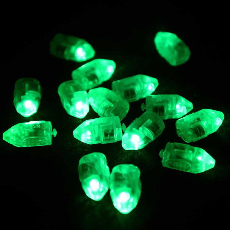 100% Бренд новый Высокое качество 100 шт Светодиодный светильник светящиеся шары для бумажный фонарь воздушный шар День рождения Рождество Прямая доставка