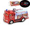 FIREMAN SAM Caminhão de Brinquedo Caminhão de Bombeiros Carro Com Música + LED Brinquedo do Menino Brinquedo Educativo
