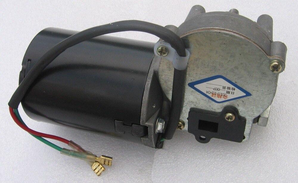 20d11f98315 Motor de engranaje de para el garaje DC12V 42 rpm 60Kg cm motorreductor  versión izquierda auto bloqueo de función de Motor de la puerta del  obturador en ...