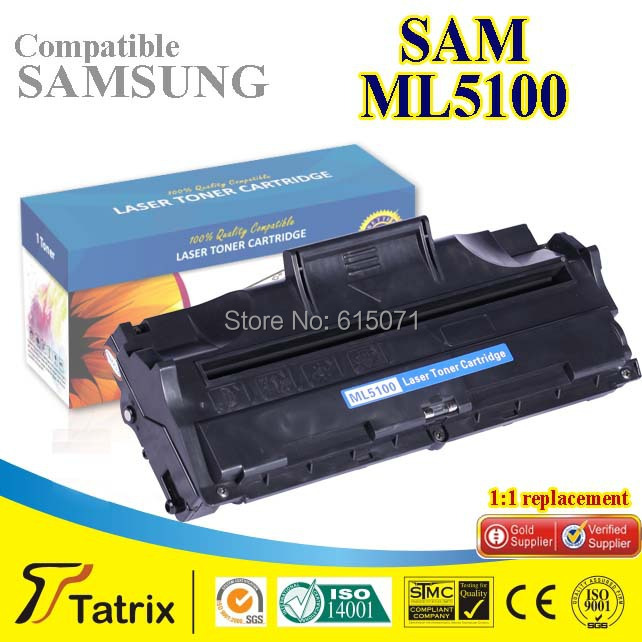 Free shipping For Samsung ML5100  Black Compatible Toner Cartridge without Chip Use For Samsung ML5100 Toner Cartridge иисус в истории и религии правда и вымысел