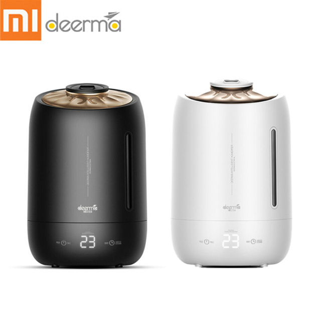 Upgraded Deerma Air Humidifier Xiaomi smart Touch-Sensitive Screen Timing Silent Household 5L Large Capacity F600 Essential oil