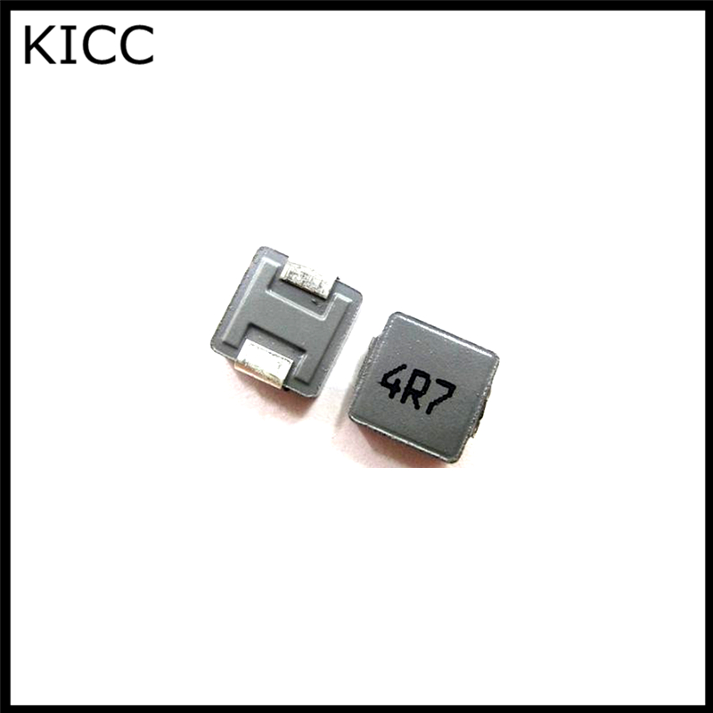 10Pcs Chip Inductor 06030 0630 4.7UH 4R7 5.5A inductance 7*7*3MM