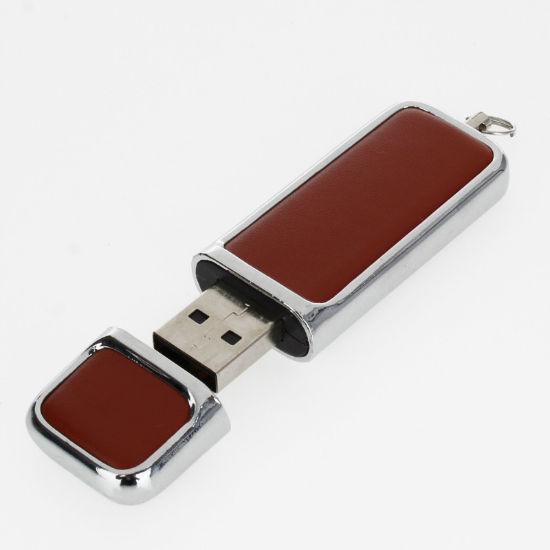 Image 5 - Business Metal Leather Usb Flash Drive 4GB 8GB 16GB Pen Drive 32gb Usb Stick 64GB 128GB High Quality Pendrive Free Custom Logo-in USB Flash Drives from Computer & Office