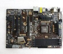 Подержанные оригинальная для ASRock Z77 Extreme4 DDR3 LGA1155 32 ГБ z77 Рабочего материнская плата Бесплатная доставка