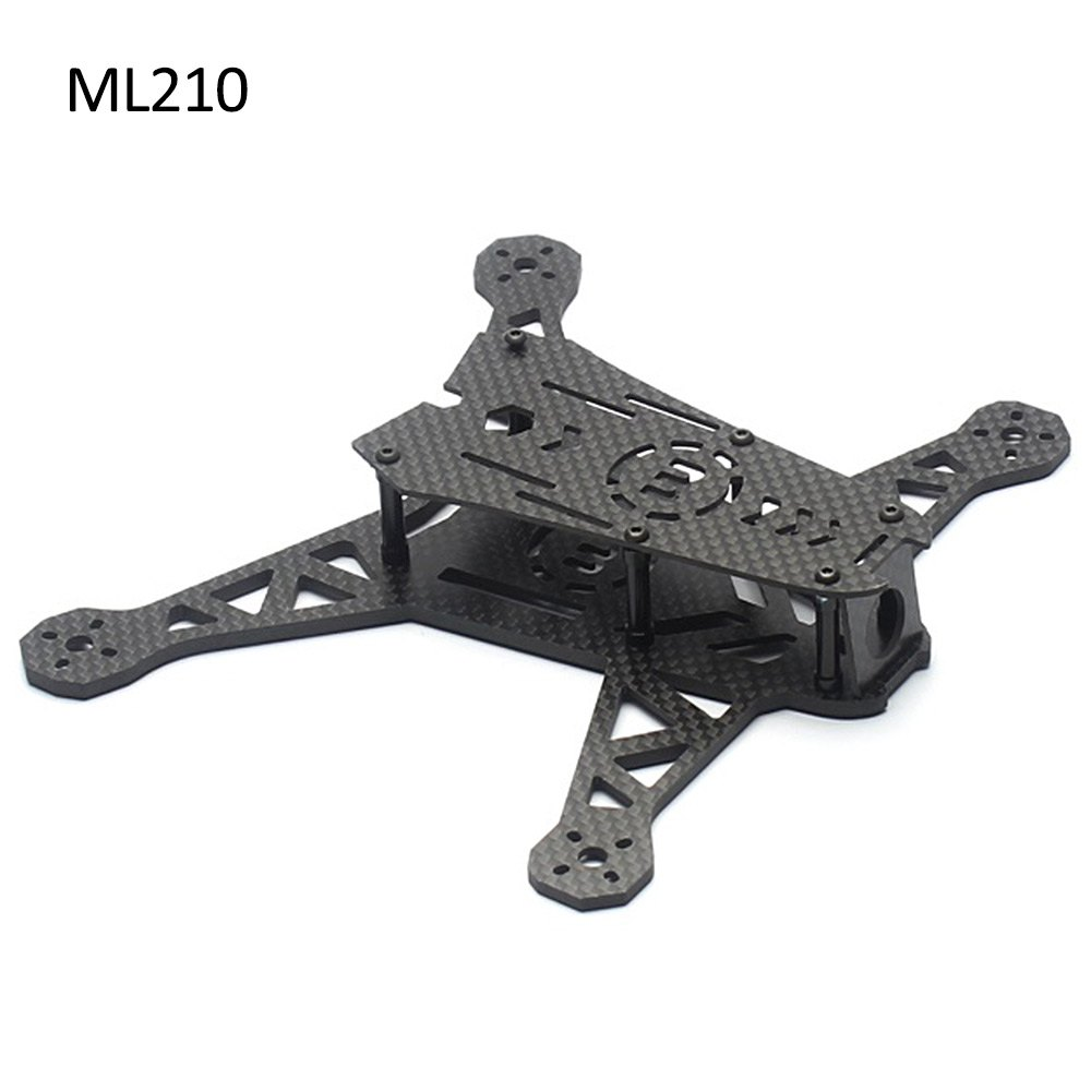 ФОТО High Quality DIY Drone LISAMRC ML210 Carbon Fiber Multicopter Frame Kit Accessory for Multicopter
