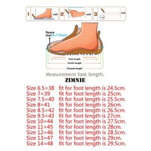 Image 5 - ZIMNIE מותג גברים קלאסי אבזם עבה תחתון שמלת נעלי גברים בעבודת יד יוקרה פורמליות משרד עסקי נעלי עור אמיתי נעליים