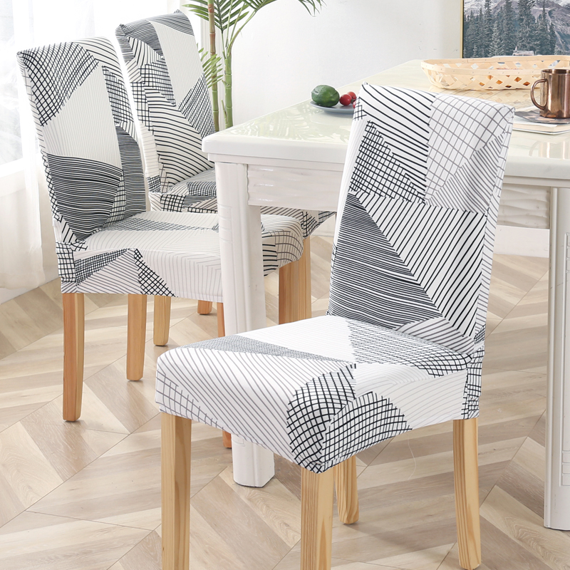 Office Chair Covers Spandex Elastic For Dining Room Fully Wrapped Slipcovers For Wedding Hotel Banquet Chairs Housse De Chaise