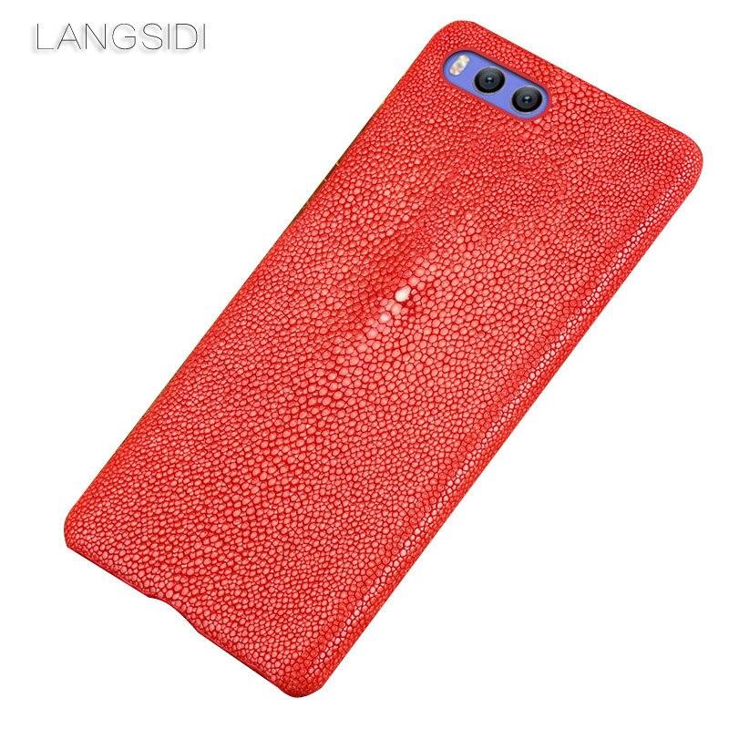 Wangcangli marque étui de téléphone portable perle poisson demi-paquet étui de téléphone pour Xiaomi 5X coque de téléphone à la main traitement personnalisé