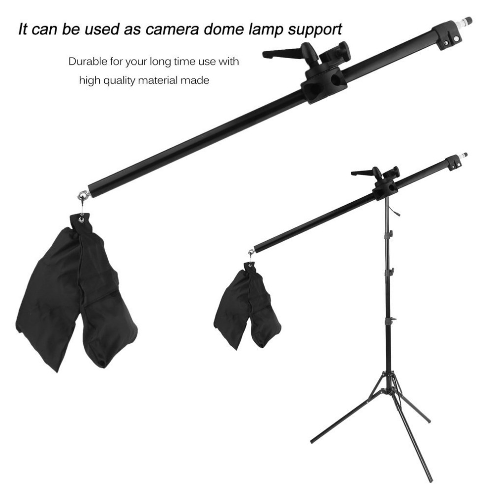 17-141cm Camera Cross Arm Bracket Telescopic Boom Arm Studio Photo Stand Top Light Support Photographic Equipment Accessories17-141cm Camera Cross Arm Bracket Telescopic Boom Arm Studio Photo Stand Top Light Support Photographic Equipment Accessories