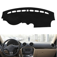 Fit For VW Jetta 2013 2016 Auto Car Dashboard Cover Avoid Light Pad Instrument Platform Dash