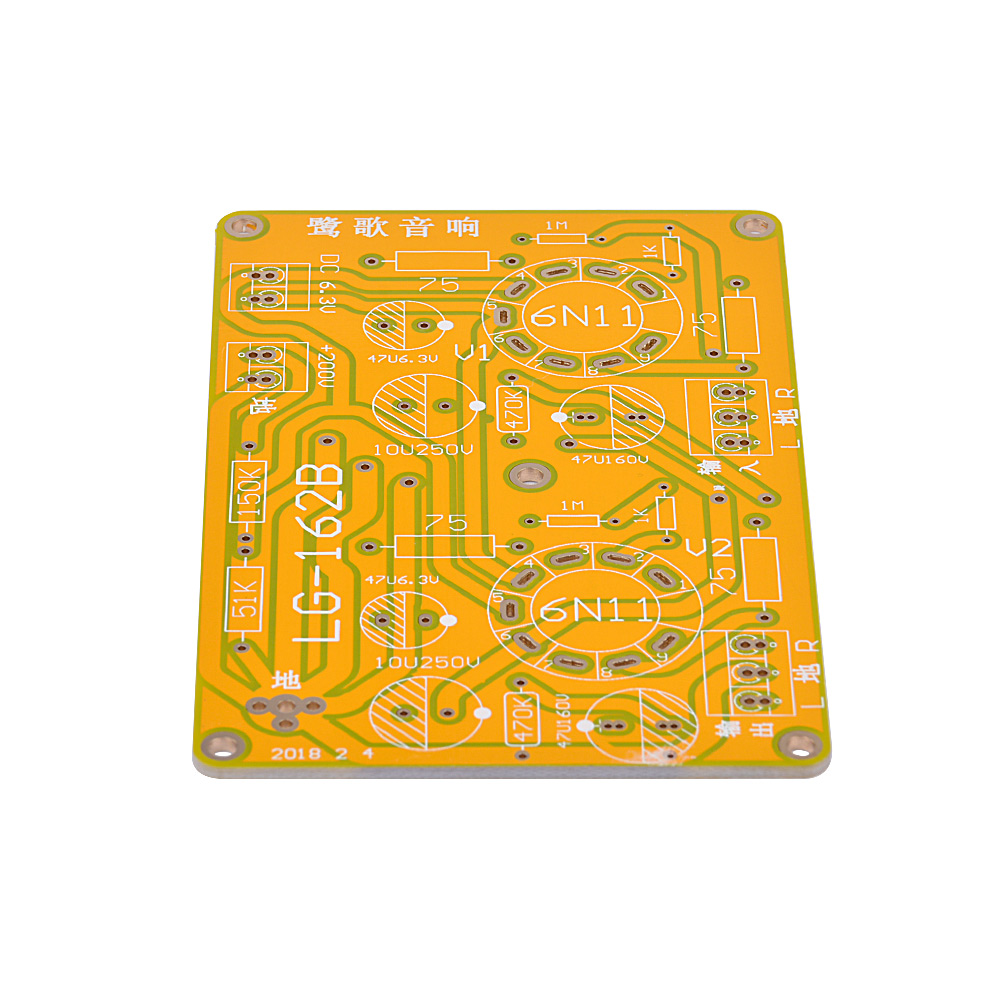 6dj8 Pre Amp Circuits Ampcircuits Aiyima Vacuum Tube Headphone Amplifier Board For In From Consumer Electronics