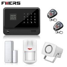 2.4G WiFi GPRS GSM sistema de Alarma IOS Android APP Control Sensor Detector de Alarma de Seguridad Inalámbrica GSM Inicio Sistema de Alarma