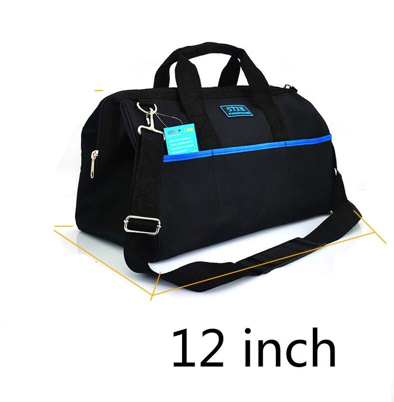 ФОТО 12 Inch Kit Canvas Multifunctional Portable Single Shoulder Electrician Tool Kit Hardware Repair Kit Manual Tool