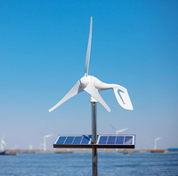 600W Max Wind Generator 3 Blades Wind Turbine Generator CE ROHS Approval Wind Power Generator Wind