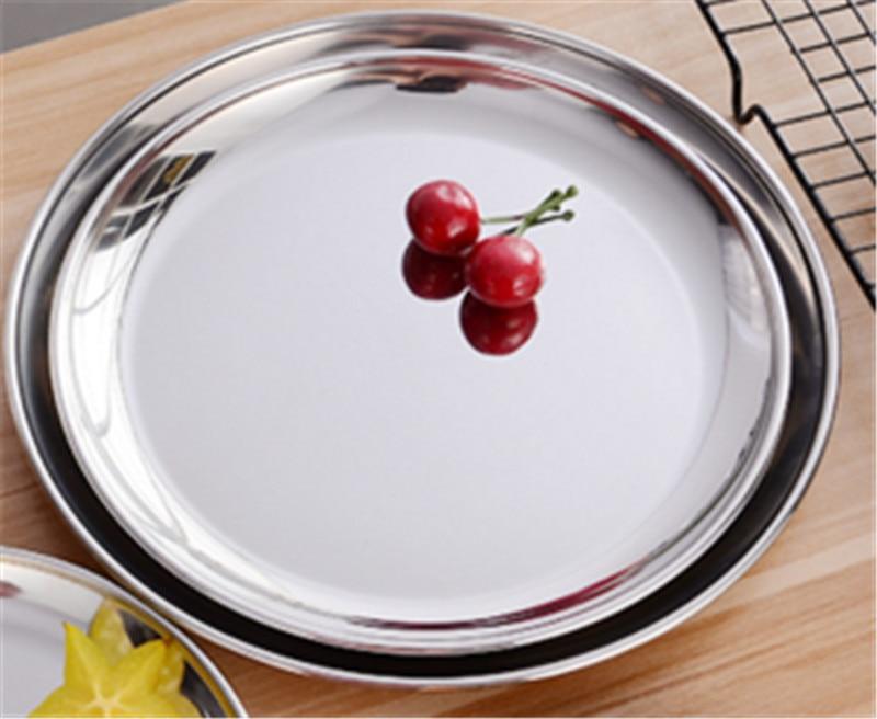 Edelstahl BBQ Lebensmittelbehälter Tablett Rechteckige Platte Küche Grill