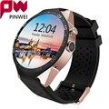 Mtk6580 pinwei kw88 homens mulheres smart watch para android e ios bluetooth smartwatch relógio de pulso pulseira de tela de 1.39 ''hd para iphone