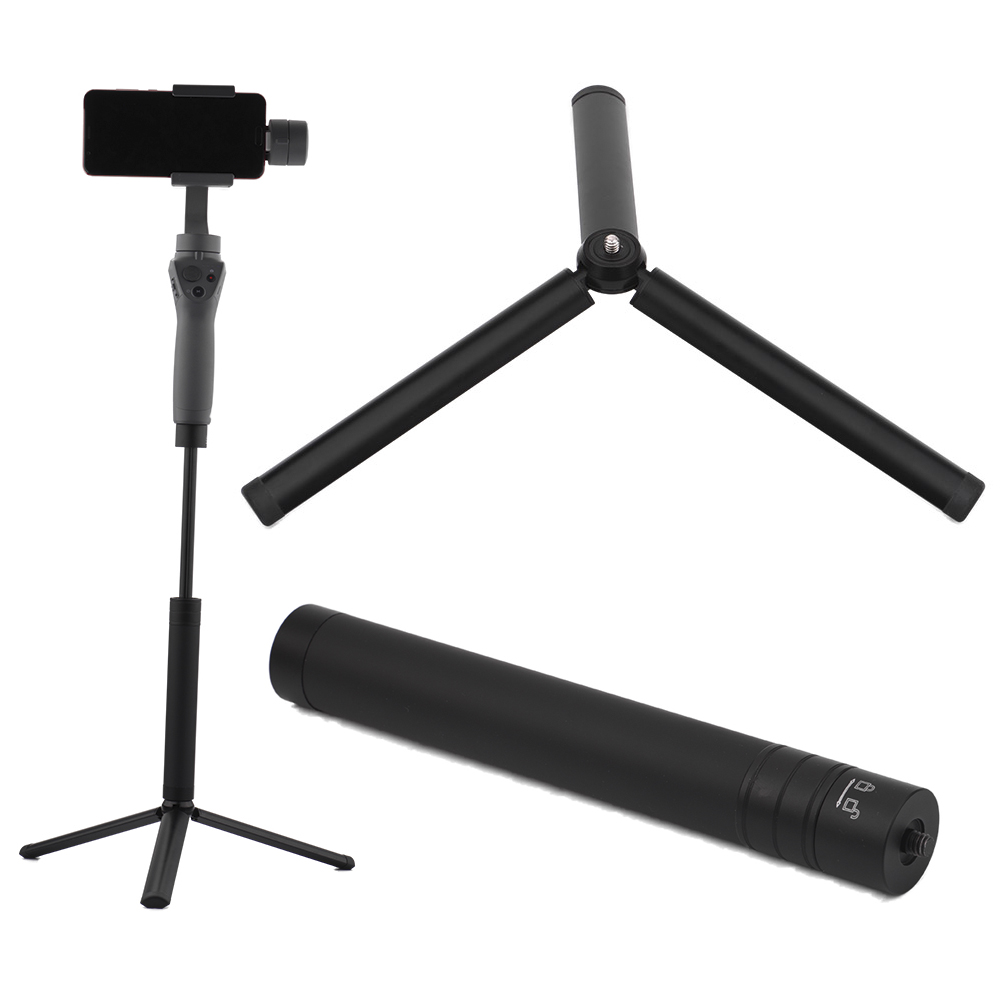 Extension Pole Bar Stick Telescopic Rod Tripod For DJI OSMO Mobile 2 3 Feiyu Vemble Zhiyun Smooth 4 Handheld Gimbal Stabilizer