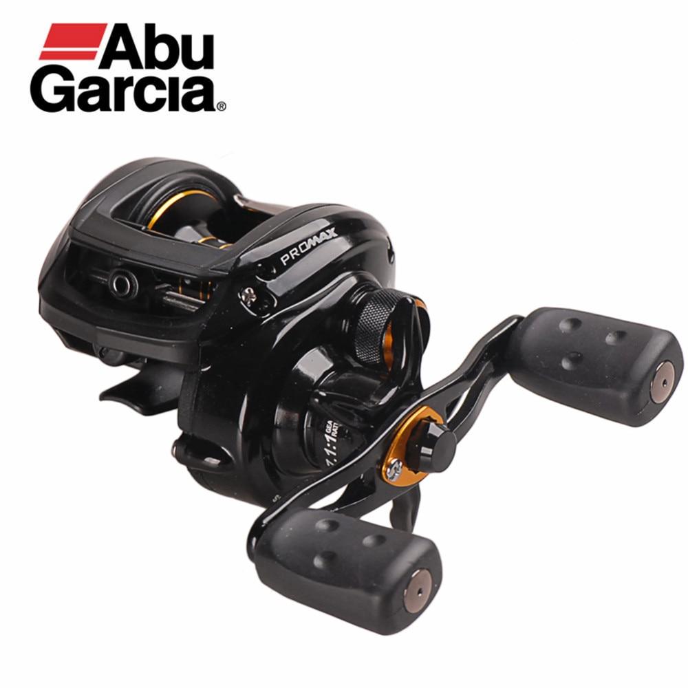 Original Abu Garcia PRO MAX PMAX3 Right Left Casting Reel 7.1:1/8BB Drag 8.1kg Trolling Baitcasting Fishing Reel Pesca Peche