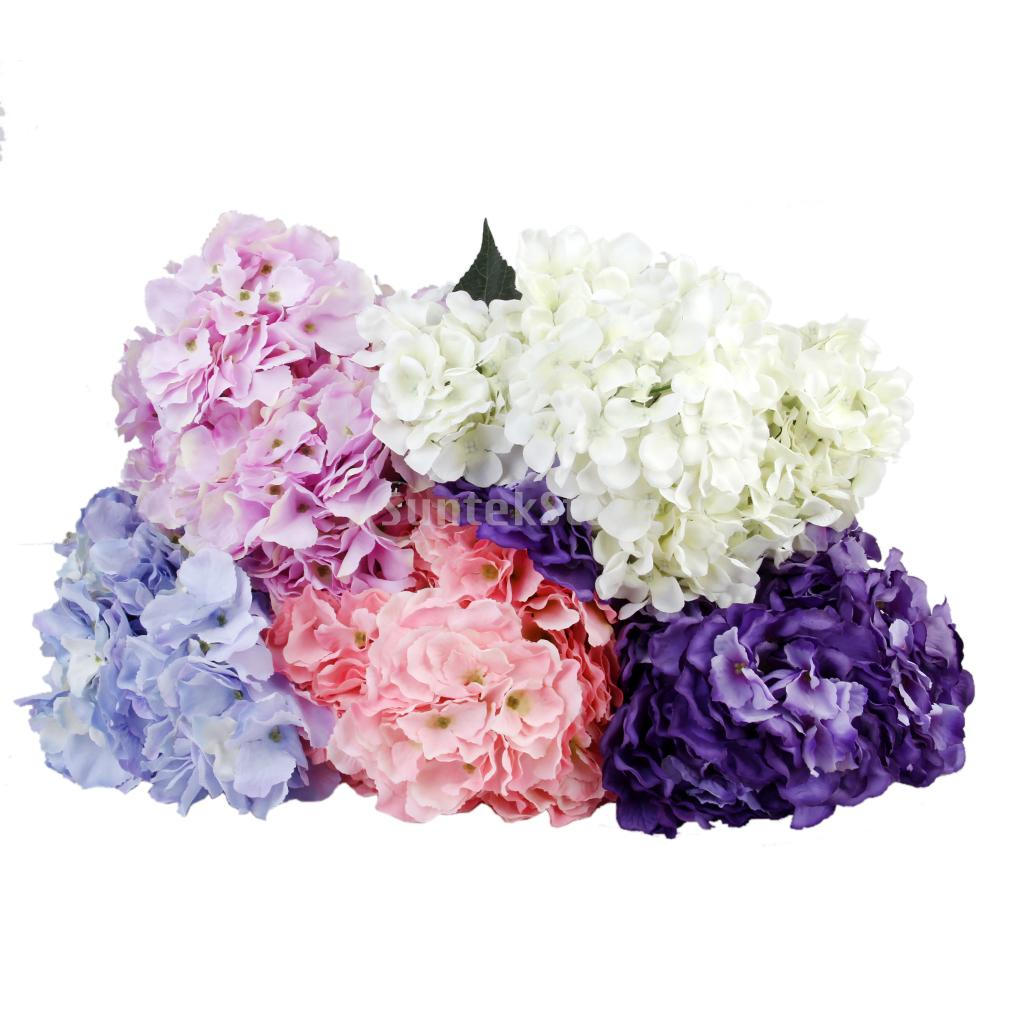 Artificial silk flower hydrangea bouquet wedding home decor light artificial silk flower hydrangea bouquet wedding home decor light purple in artificial dried flowers from home garden on aliexpress alibaba group izmirmasajfo