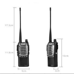 Image 5 - Baofeng Walkie talkie 8 UV 8D Geral W Alta Potência Dual Lançamento Chave 5 15 KM Comunicação À Distância Multifunções segurança Interfone