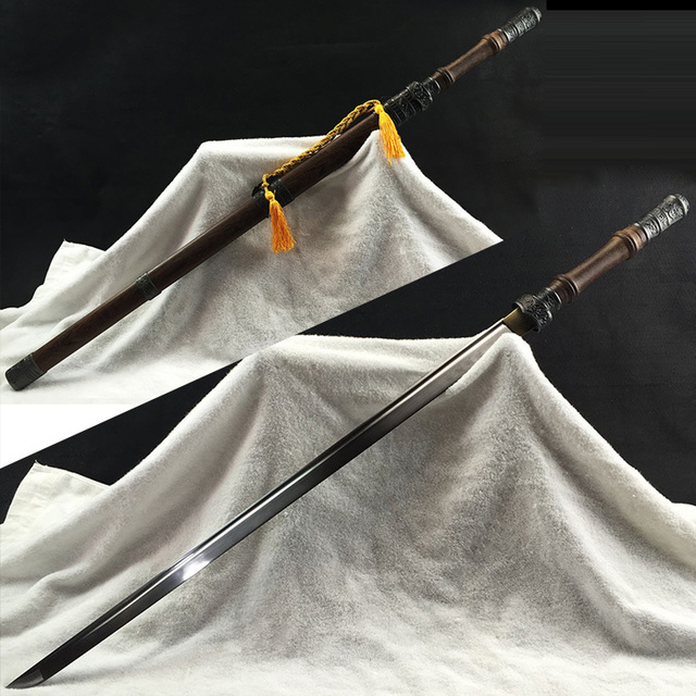 Carbon Steel Qin Inspired Katana