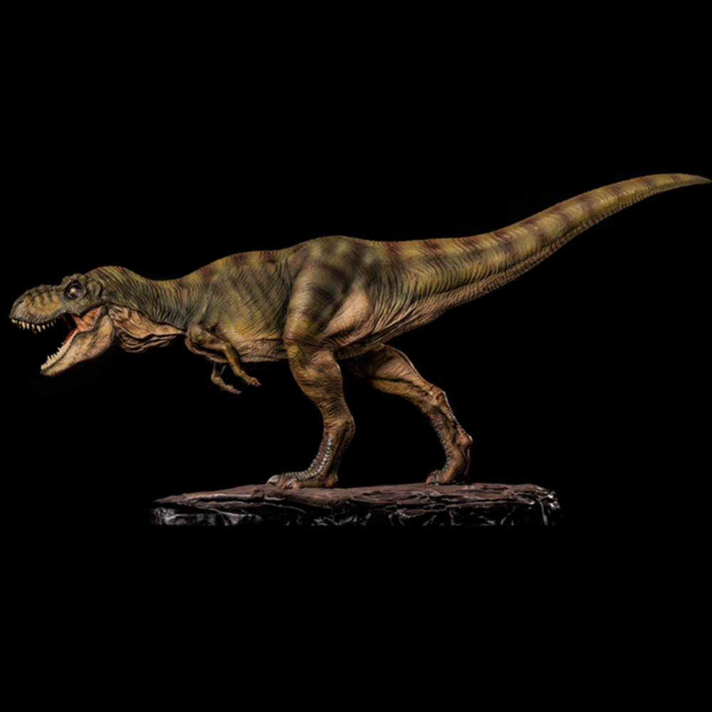 2018 Tyrannosaurus King T Rex Model Statue Dinosaur Figure Base Toys Collector Decor Christmas Gift Boy Kids