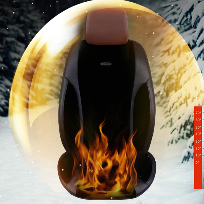 12V 24V Heated massage Car Seat Cushion Cover Seat For Honda Accord Civic CRV Crosstour Fit City HRV