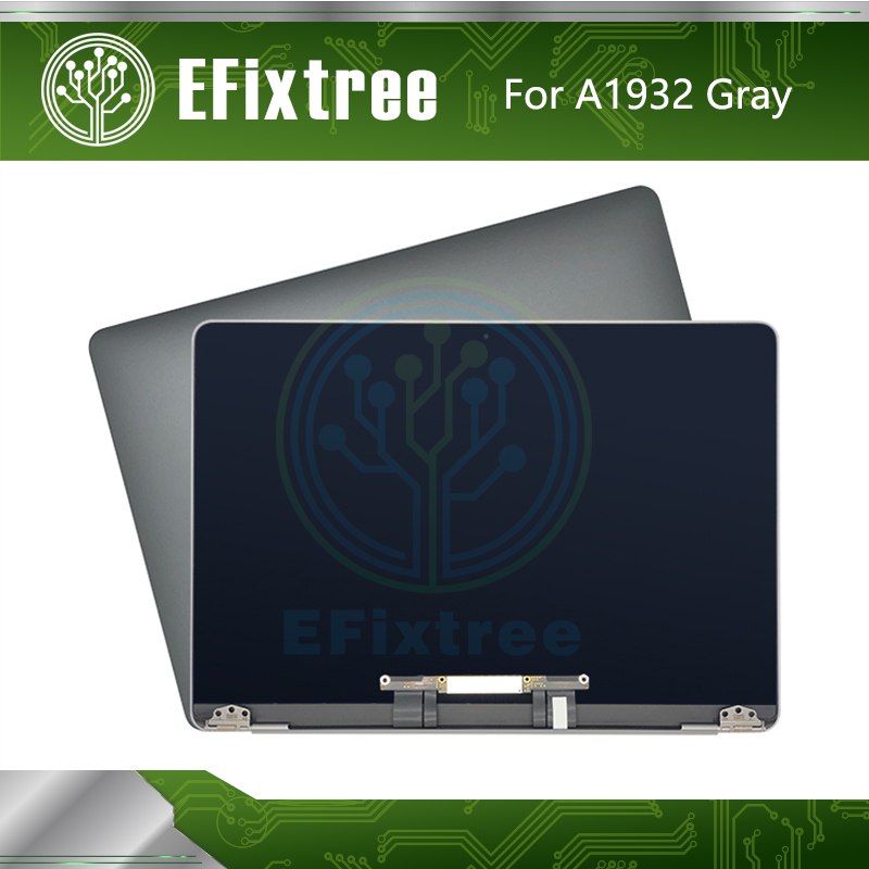 Full New  Grey Gold Silver 2018 Year LCD Assembly Screen For Macbook Air Retina 13.3