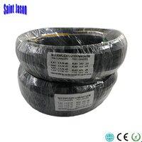50M Outdoor FTTH Fiber Optic Drop Cable Patch Cord SC/APC to SC/APC Duplex SM G657A2 LSZH 4core GJYXCH Drop Cable Patch Cord