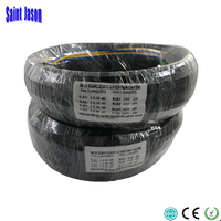50M Outdoor FTTH Fiber Optic Drop Cable Patch Cord SC/APC to SC/APC Duplex SM G657A2 LSZH 4core GJYXCH Drop Cable Patch Cord