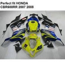 Partes do corpo Aftermarket carenagens para Honda CBR 600RR 07 08 cal verde black carenagem kit CBR600RR 2007 2008 CV82
