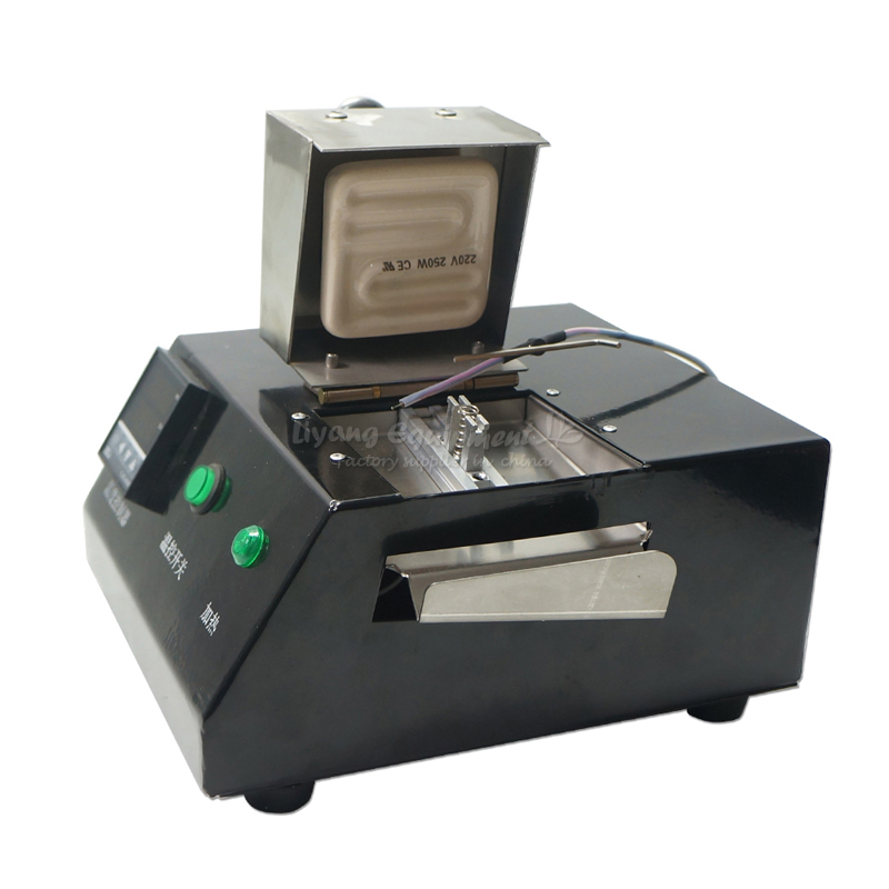LY M700 reballing solder machine with 16pcs direct heat universal stencils
